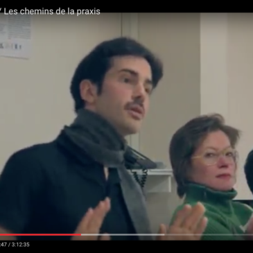 Video – La philosophie de la praxis et Michel Clouscard (Atelier N°2)