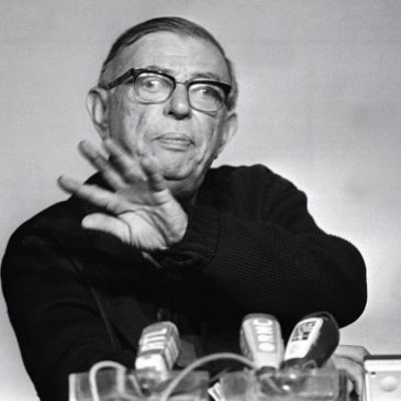 Conférence d'Arno Münster «Sartre et la praxis»