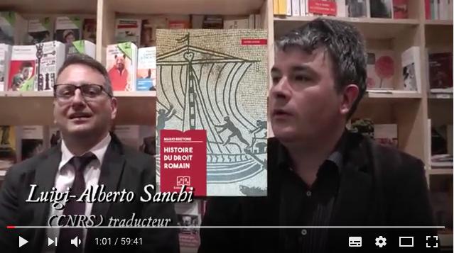 Video – Histoire du droit romain