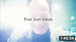 Hommage à Jean Salem (conférence à Tropiques)