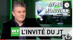 A. Monville au JT de RT France : le parlement européen complice des crimes contre le Venezuela