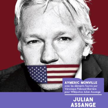 Julian Assange en danger de mort (Tropiques, jeudi 3 octobre)