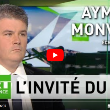 sur RT France Aymeric Monville alerte sur le traitement de Julian Assange