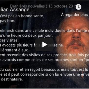 Vidéo – Pour Julian Assange