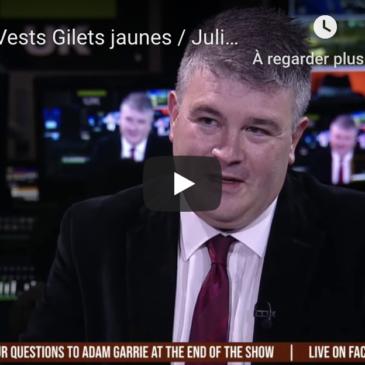 Vidéo – Yellow Vests Gilets jaunes / Julian Assange (sous-titres en français)