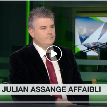 Vidéo – Affaire Assange : «Tout est illégal dans ce procès, y compris son incarcération»