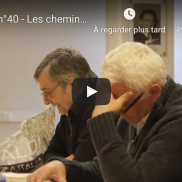 Vidéo – Atelier n°40