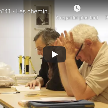 Vidéo – Atelier n°41