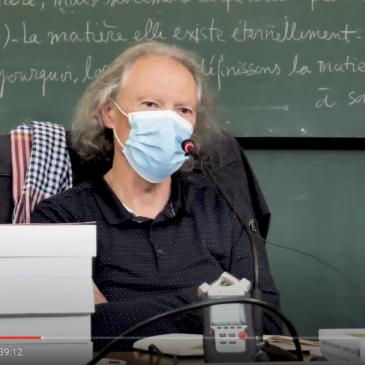 Vidéo – Conférence de G. Gastaud